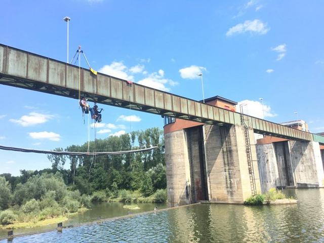 Höhenrettung Brücke