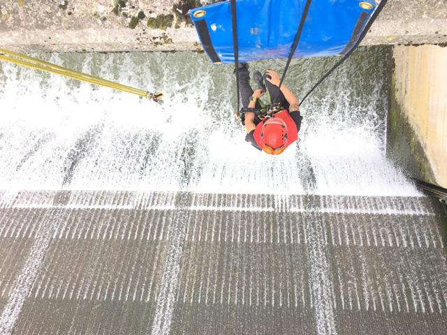 Wasserwerk Höhenrettung