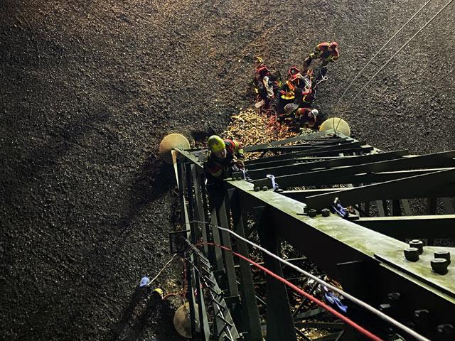 Feuerwehr Ausbildung Absturzsicherung