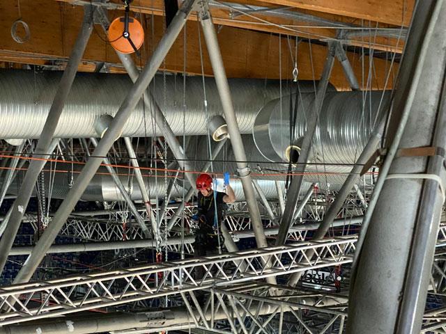 Industrieklettern Montagearbeiten